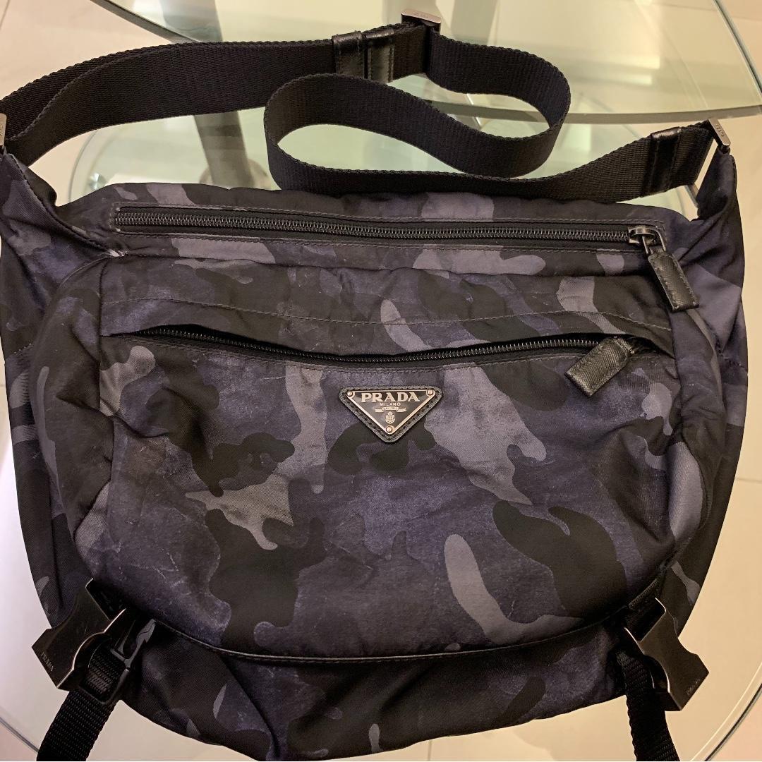 Prada Camo Sling Bag Men S Fashion
