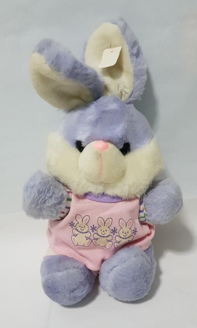 Rabbit soft toy (blue rabbit) ebe3bd466906