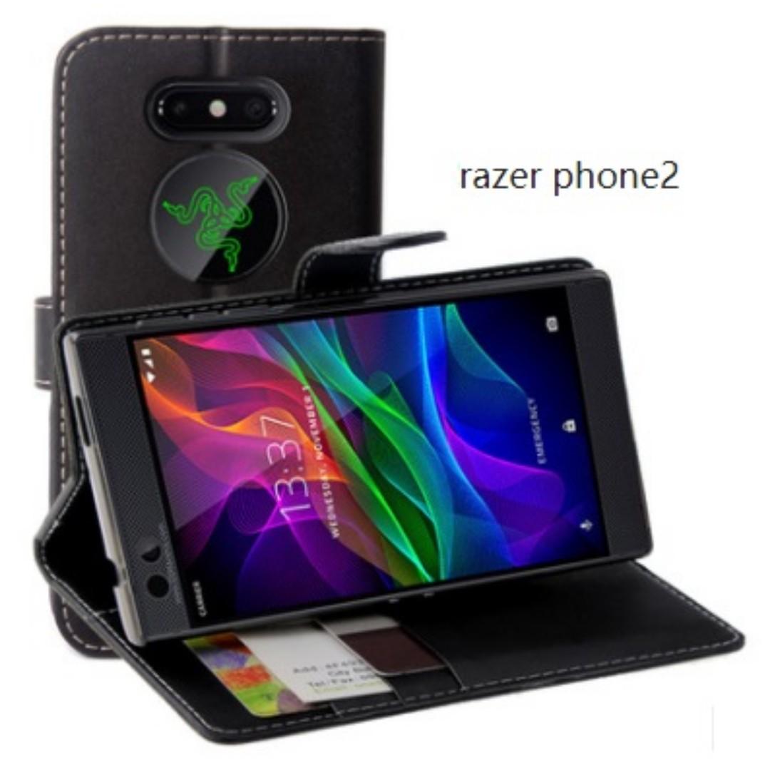 get cheap b40e9 5bf8e Razer Phone 2 Flip Wallet Case