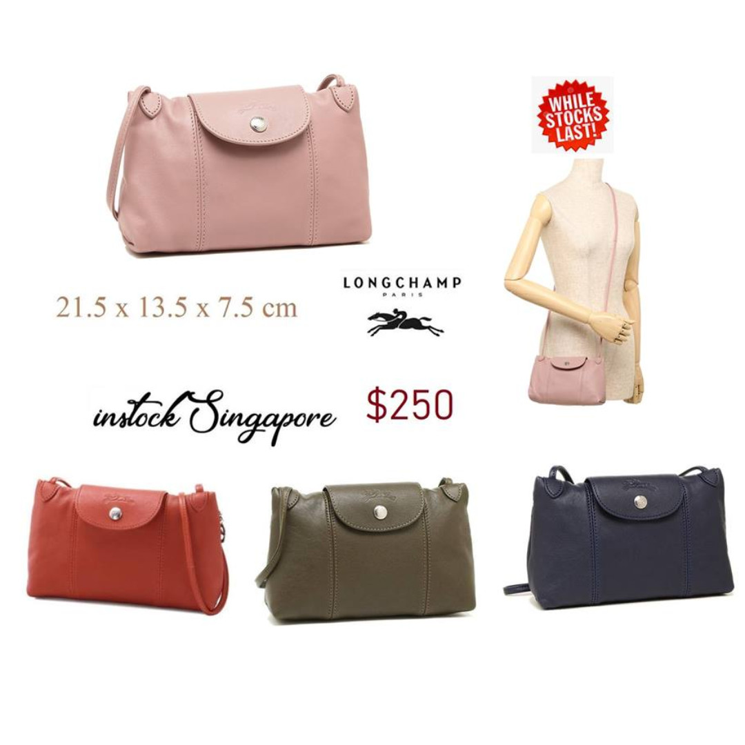 cad255cabf73 READY STOCK authentic new LONGCHAMP LE PLIAGE CUIR CROSS BODY ...