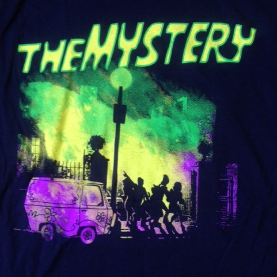 Scooby Doo T-Shirt Mens/Unisex M Navy-Parody/The Exorcist