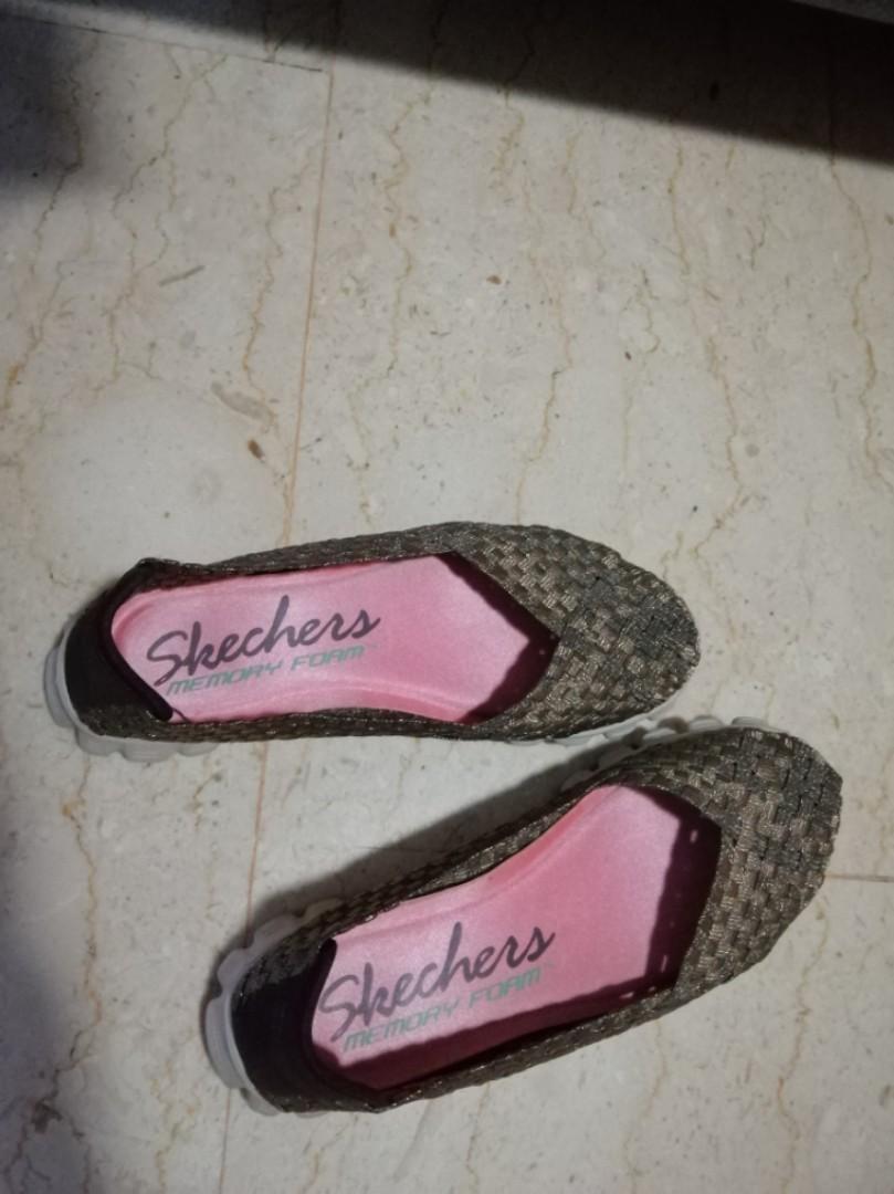 569dcfc8db2a7 Skechers memory foam comfortable flats/walking shoes, Women's ...