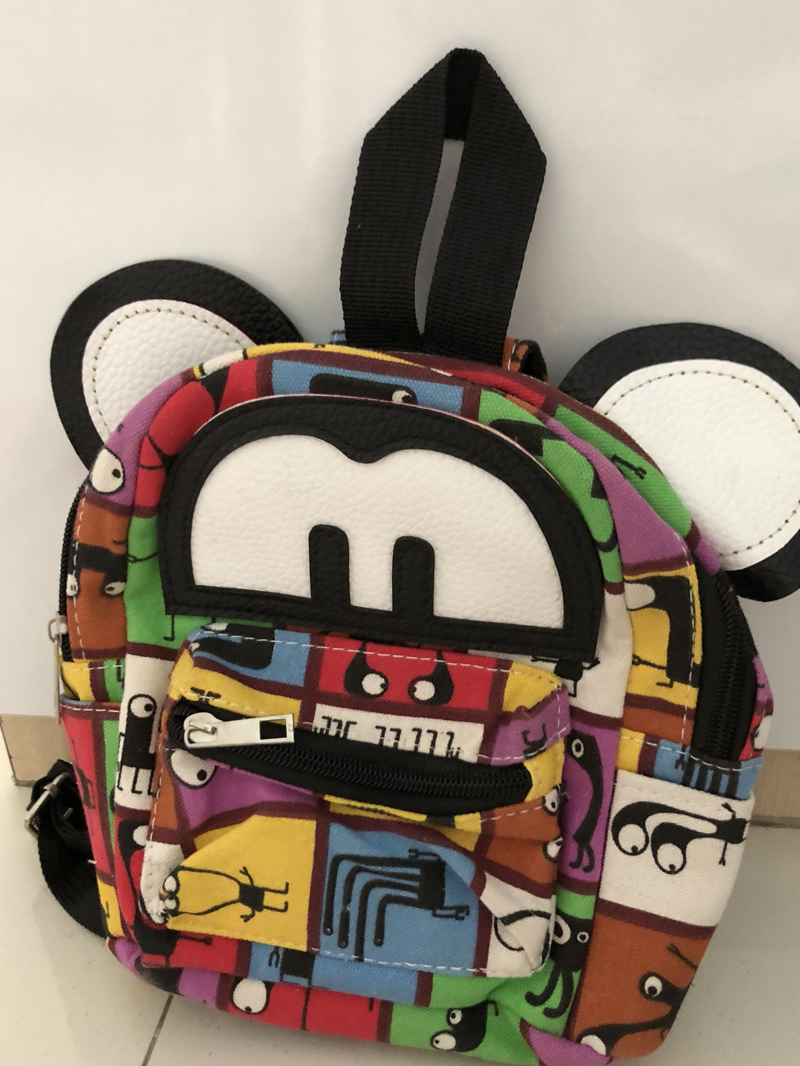 281c1813674 Small colourful Mickey Mouse Backpack