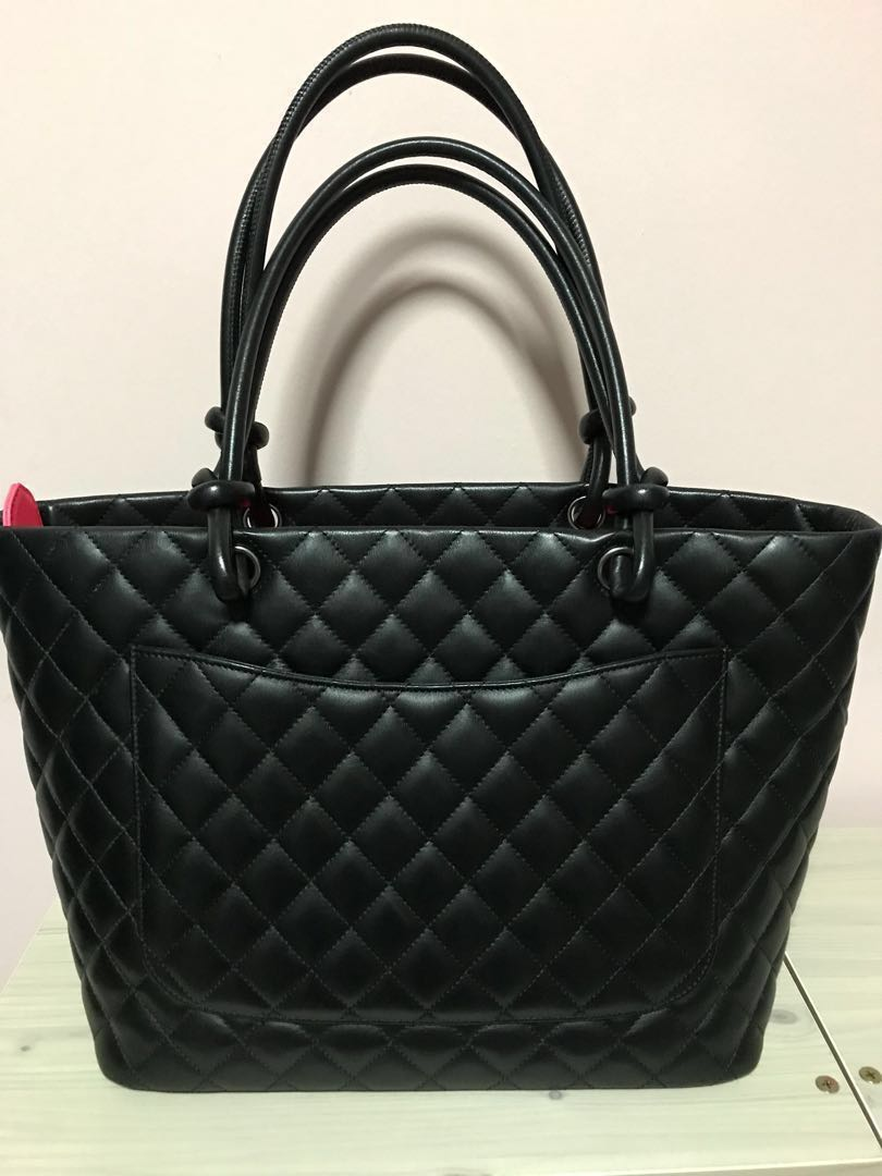 aa89157895ce (SOLD) Chanel Cambon Tote Bag