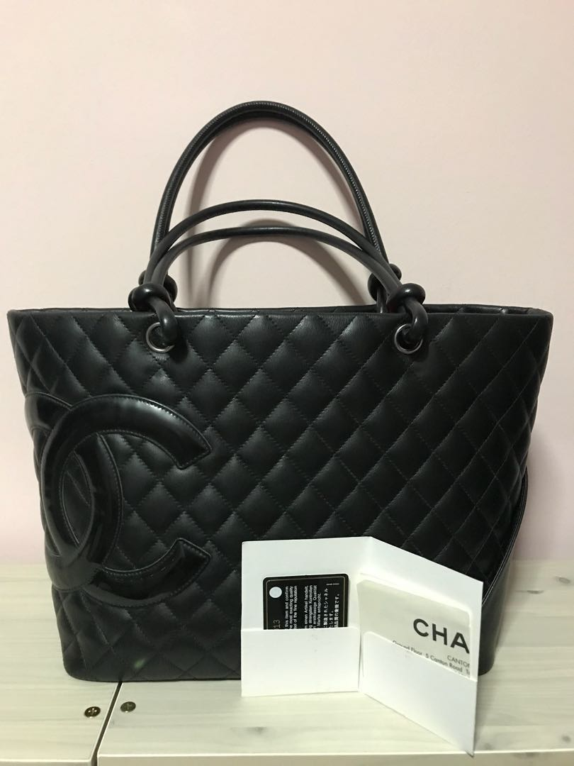 2026aba847dc SOLD) Chanel Cambon Tote Bag