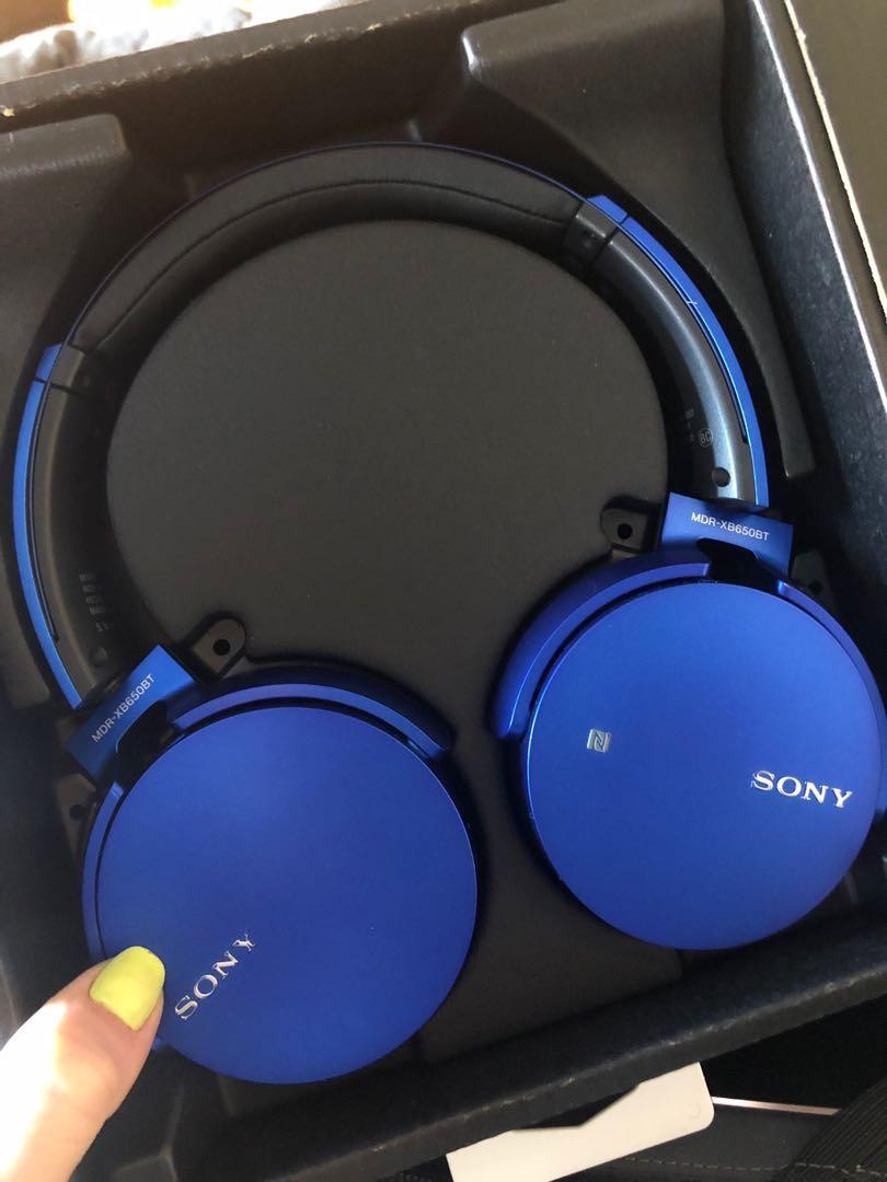 Sony Headphones XB650BT