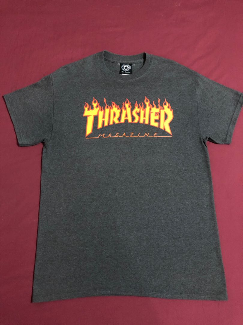b1e5b1c88c80 Thrasher Flame Tee