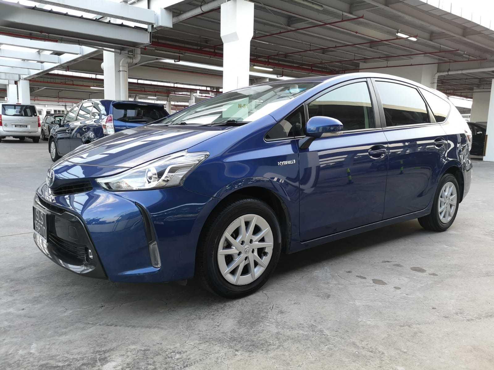 TOYOTA PRIUS ALPHA HYBRID 1.8S CVT, Cars, Vehicle Rentals ...