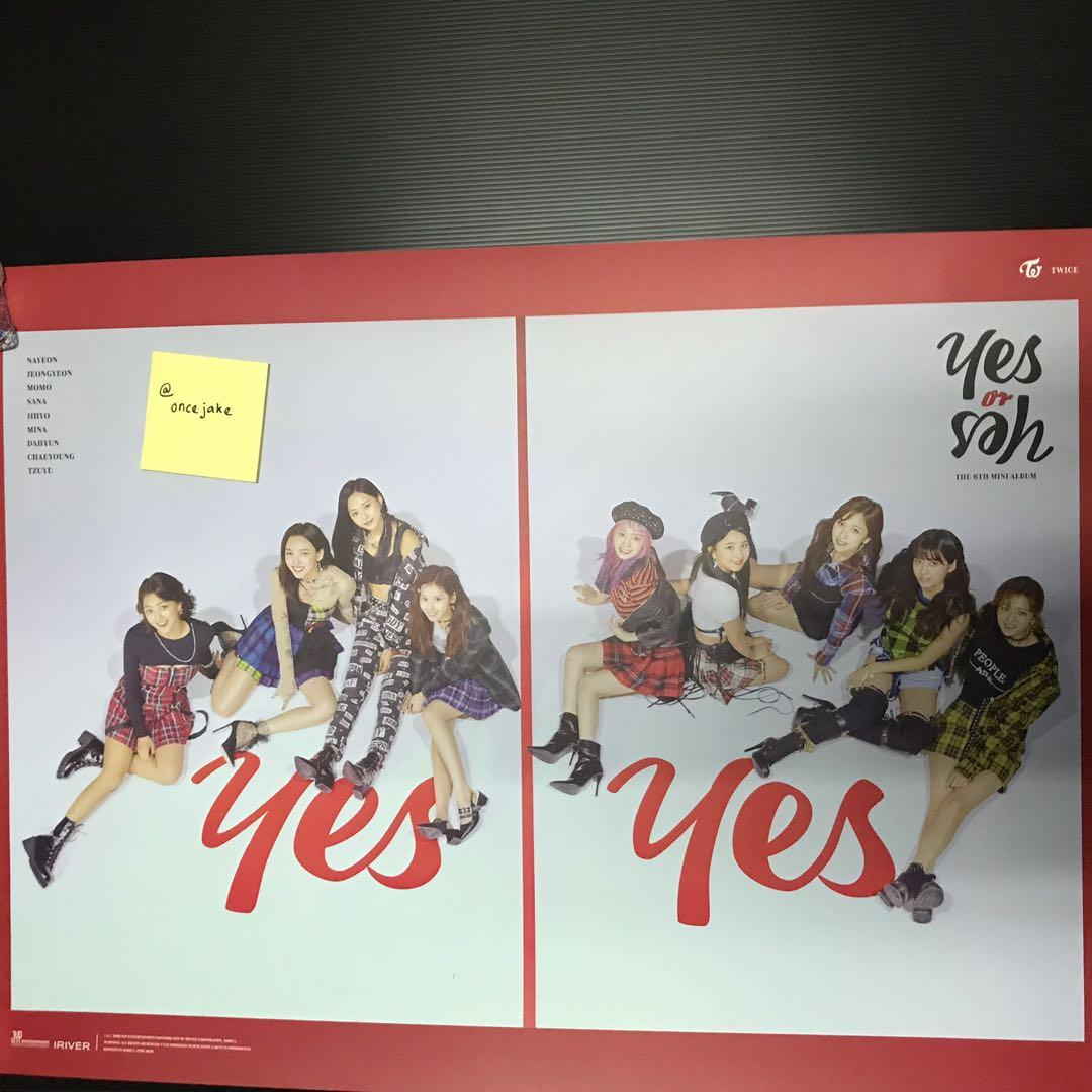 Twice Yes or Yes poster Officials