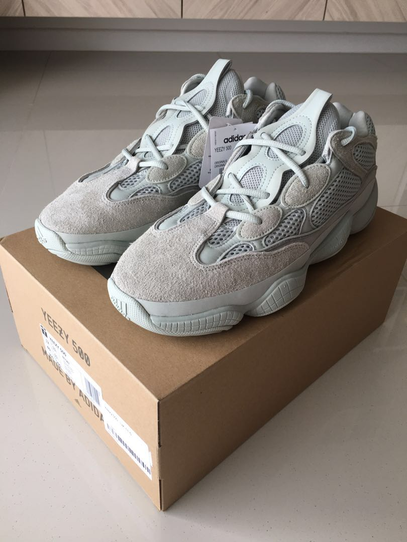 2ef7346ea948d UK11.5 Adidas Yeezy 500 Salt