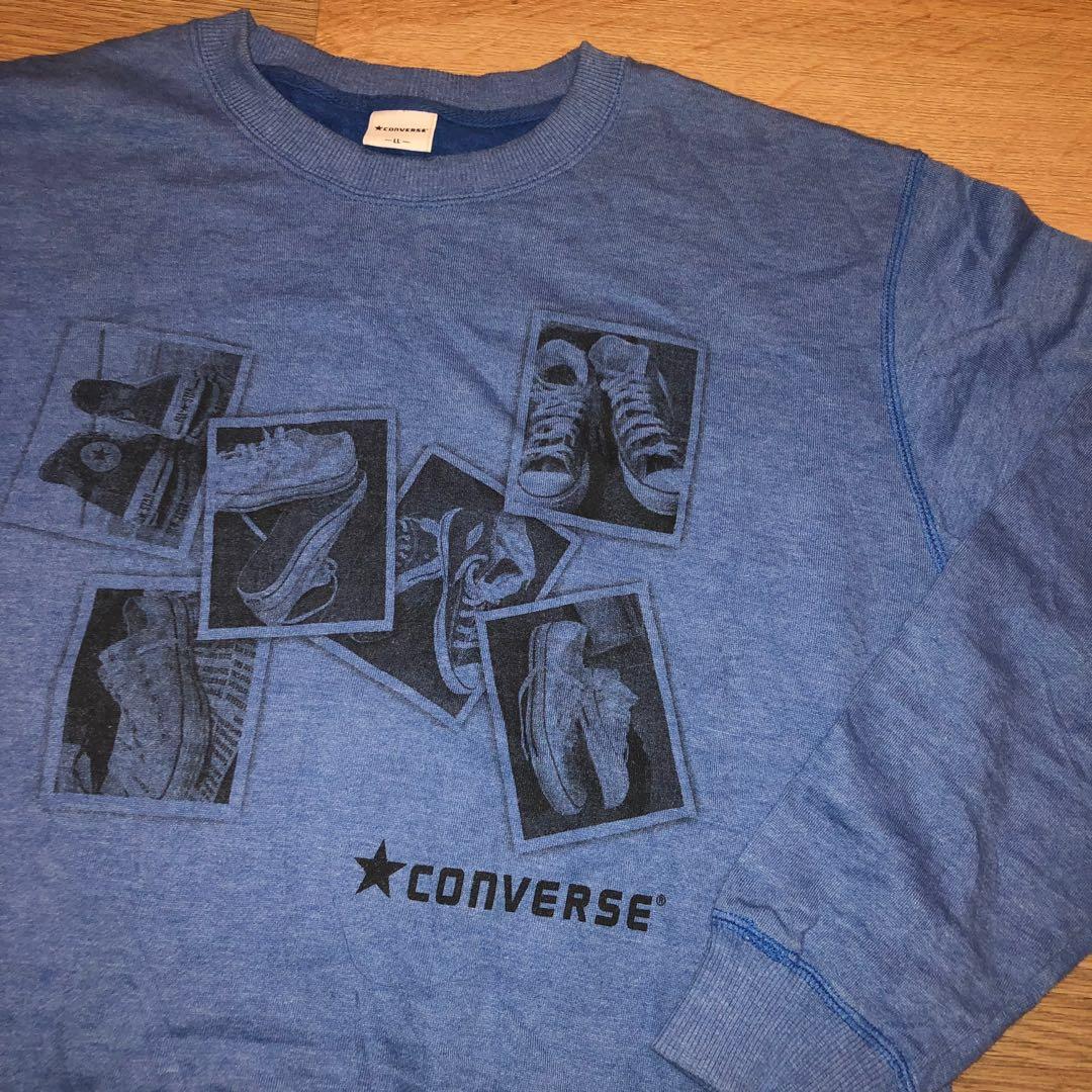 ca8eae3358519 Vintage Converse Sweatshirt Size XL