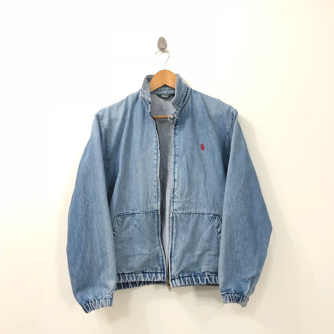 80544e26b1 VINTAGE POLO RALPH LAUREN DENIM JACKET