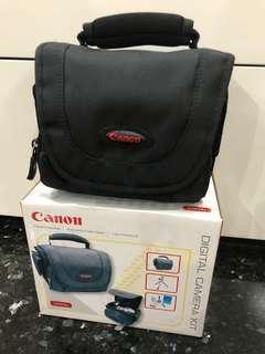 Like New Canon Camera Bag Carry Black Stylish Photo Hobby Storage