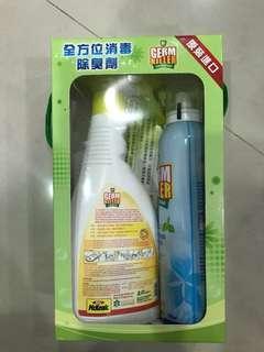 🚚 Germ killer 淨可立全方位消毒除臭劑