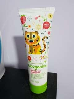 Babyganics Fluride Free Toothpaste