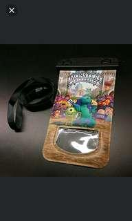 IPhone4 case+ 怪獸公司防水袋/防水套