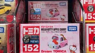 BNIB Takara Tomy Year 2018 Hello Kitty Apple Carry (Dream Tomica)