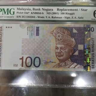 马币$100