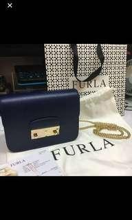 90%New Furla crossbody bag