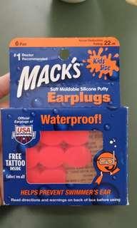 Earplugs mack's for 0-5years