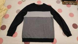 OBRAL CEPAT Sweater Hitam Keren