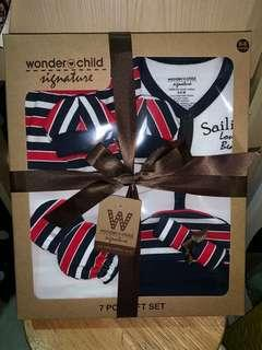 Wonderchild baby gift set 7pcs