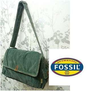 Fossil Corduroy Sling Bag