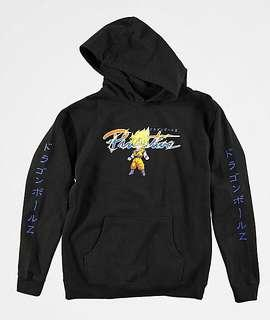 dragon ball z x primitive hoodie