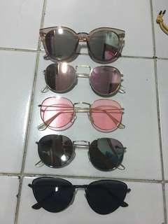 Kacamata sunglasses murah 35k/each not zara stradivarius