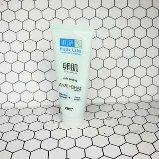 💀 Hada Labo Tamagohada Ultimate Mild Peeling Face Wash Make Up Remover