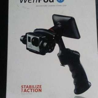 Wenpod GP1 plus Handheld Stabilizer for GoPro 3 and 3 plus and 4 BLACK
