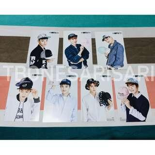 Exo Hats On Postcards