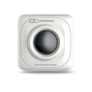 Paperang P1 Mini Portable Bluetooth 4.0 Thermal Printer 57mm Paper Size 200 dpi with Cute Model