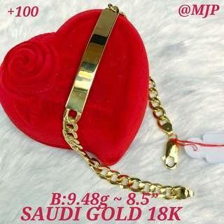 18K SAUDI GOLD PAWNABLE JEWELRY