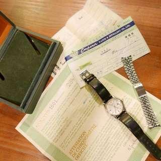 Rolex 1601 Datejust Linen Dial Fullset
