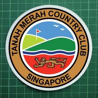 Souvenir Car Decals / Windscreen Decals - Tanah Merah Country Club. TMCC. $8 each. 2 for $15. 3 for $20. Free Normal Mail