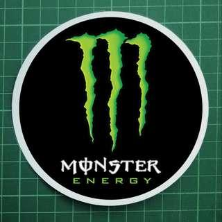 Souvenir Car Decals / Windscreen Decals - Monster Energy. $8 each. 3 for $20 + Free Normal Mail