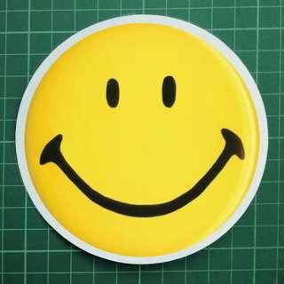 The ORIGINAL Smiley :) Car Decals / Windscreen Decals.  $8 each. 3 for $20 + Free Normal Mail. Swipe Image to see more :)