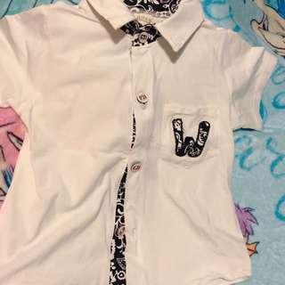 短袖襯衫 恤衫