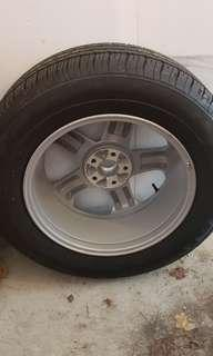 Spare Tire off 2003 Nissan Murano-GOODYEAR
