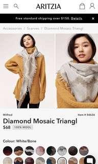 Wilfred • Aritzia Mosaic Triangle scarf