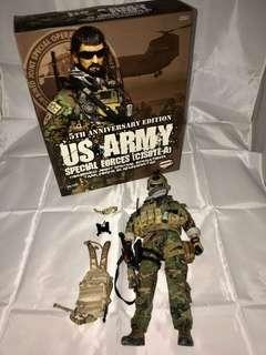 "PLAYHOUSE MMS 1/6 DX12"" 5TH ANNIVERSARY EDITION US ARMY SPECIAL FORCES Figure"