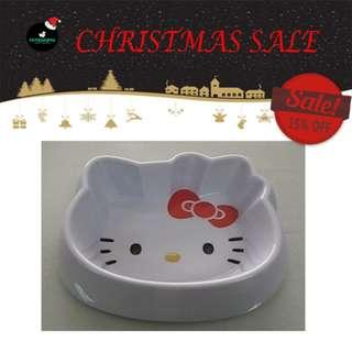🚚 [CHRISTMAS SALE] Kitty Pattern Pet Dog Cat Eating Drinking Bowl