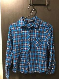 basic blue flannel brand tized