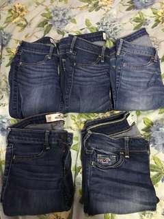 Hollister Jeans size 23-24