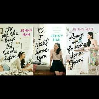 Ebook Novel Jenny Han: To All the Boys I've Loved Before Books
