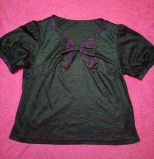 💃PRELOVED BLACK SAILORMOON SHIRT