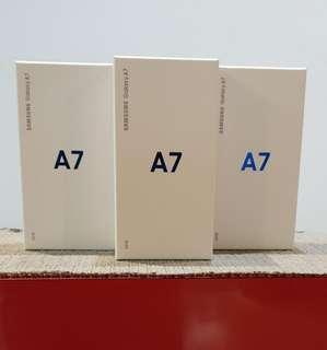 Samsung A7 2018 Local sealed sets