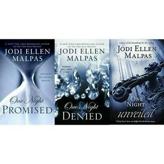 Ebook Novel Jodi Ellen Malpas: One Night Books