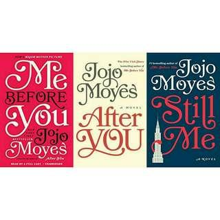 Ebook Novel Jojo Moyes: Me Before You Books